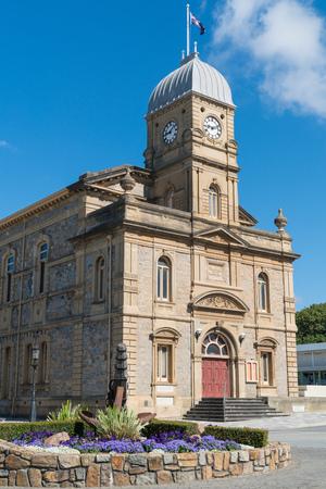 Historic townhall of Albany, Western Australia Stock Photo