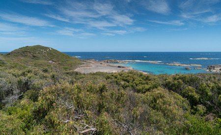 Impressing coastal landscape of the William Bay National Park, Western Australia