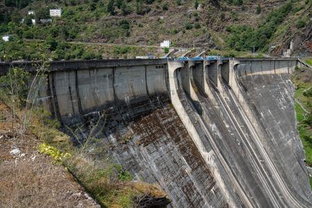Green Energy, hydroelectric power plant of Grandas de Salime, Asturias, Spain Editoriali