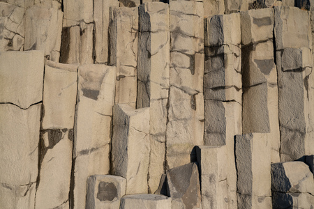 Background, close up image of basalt rocks