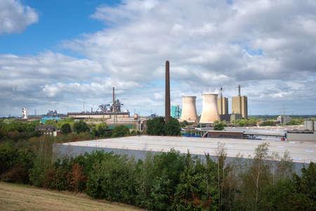 Industrial area, Ruhr Metropolis, Germany Redakční
