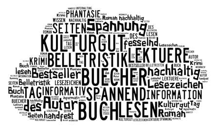 illiterate: Word cloud around the topic of cultural assets