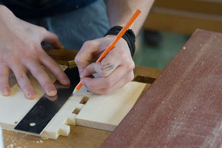 characterized: Carpenter is Characterized by using stop angle on wood