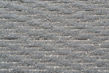 milled: Detailed fine-a milled asphalt - Background Stock Photo