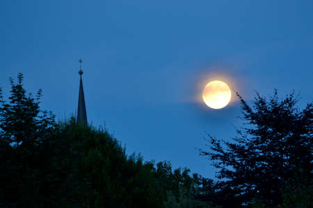 Magnificent super moon, there are only every 13 months