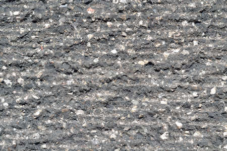 milled: Detailed Picture a milled asphalt Stock Photo