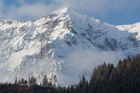 massif: wintry mountains of the Dachstein Massif