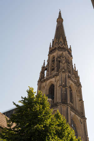 linz: Marys Cathedral in the City of Linz - Austria