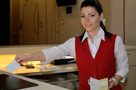 Hotel assistant in Room Selected