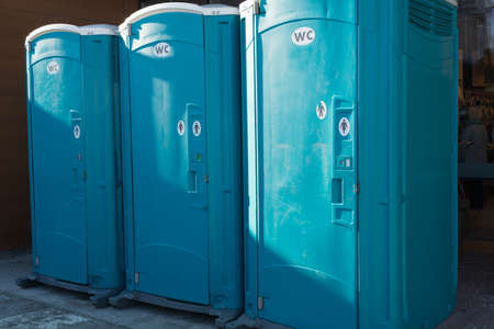 watercloset: mobile toilets for at a construction site