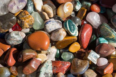 edelstenen: Mineralen Trommelstenen, edelstenen - gepolijst Edelstenen