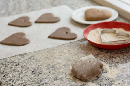 gouged: Gingerbread hearts be gouged