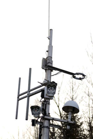 delinquency: Safety Traffic Cameras Stock Photo
