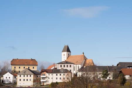 totaled: small rural municipality Gruenbach - Austria