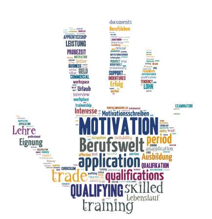 alkalmasság: Izolált szavas Cloud - fogalmak mintegy alkalmazása és karrier