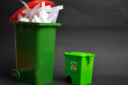 exempted: exempted recycling bin and waste-paper recyclling