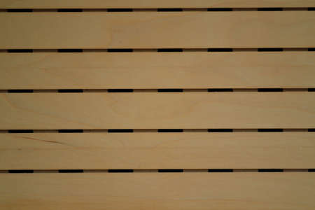 wood blinds: Wood blinds made of light wood
