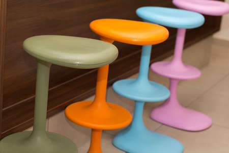 boozer: more colorful bar stool for gastronomy