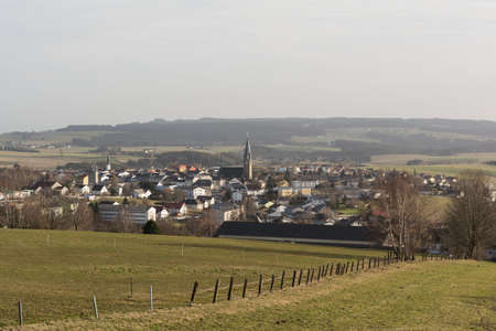 a rural community: little township in the hilly country around Bad Leonfelden - Austria