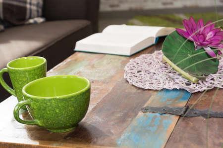 decorative coffee table in Design a treasure chest
