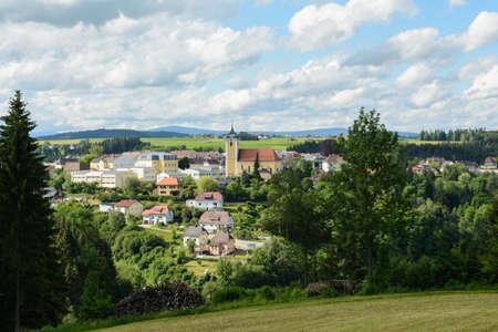 residential idyll: Municipality Neufelden in rural idyll - Austria