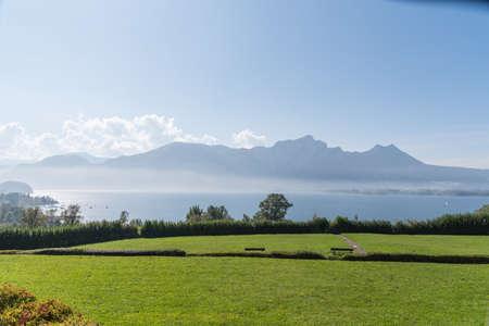 Mondsee in Austria - Holiday destination Lake District in the Salzkammergut