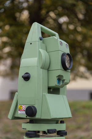 Theodolite for surveying and locating - Surveying technology