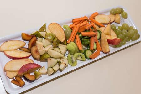 freshly prepared fruits and vegetables - fruits optional picture Banco de Imagens