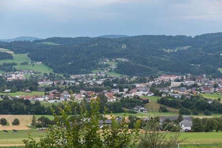 Sight of the rural community Aigen-Schlaegl - Austria