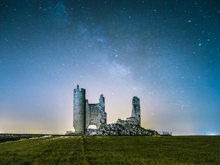 Ruines du château de Caudilla à Tolède Espagne