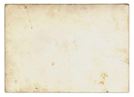 Antique Paper - Back of a photograph Banque d'images - 101355235