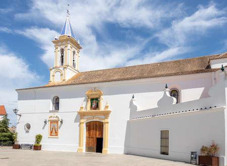 Saint Peter church in Cartaya, Huelva. White villages of Spain Reklamní fotografie