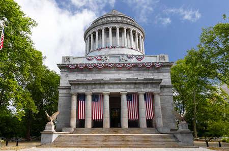 General Grant National Memorial in Riverside Park in the Morningside Heights neighborhood of Upper Manhattan in New York City Stock fotó