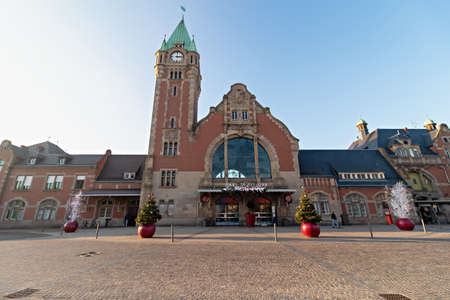 Railway station (Gare de Colmar), is a railway station located in Colmar, Alsace, France. The same design was used in the construction of Gdansk's principal railway station in Poland. Sajtókép