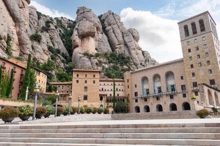 Montserrat Monastery in Barcelona, Catalonia, Spain