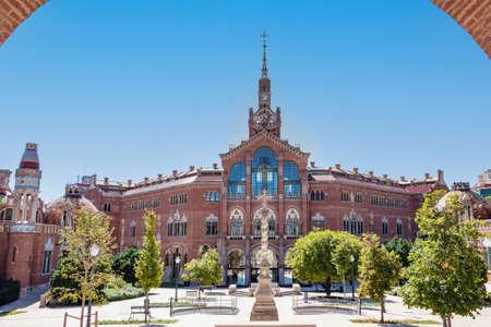 Hospital of the Holy Cross and Saint Paul (de la Santa Creu i Sant Pau) in Barcelona, Spain