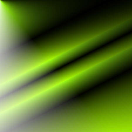 absorption: Digital art, abstract three-dimensional objects with soft lighting Stock Photo