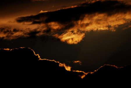 Berlin Summer Clouds Stock Photo