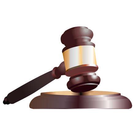 裁判官小槌アイコン イラスト。 写真素材 - 80479799