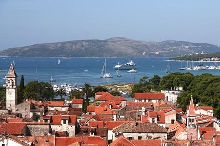 Panorama of Trogir in Croatia  Stock Photo - 12792741