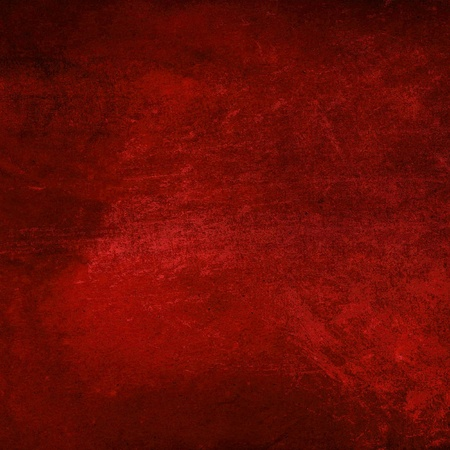 Grain red paint wall background or texture  Stock Photo