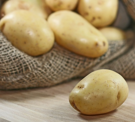 potatoes close up  Stock Photo - 13199563