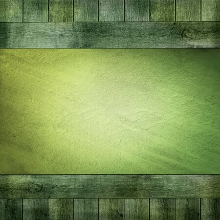 green wood background  Stock Photo - 13254233