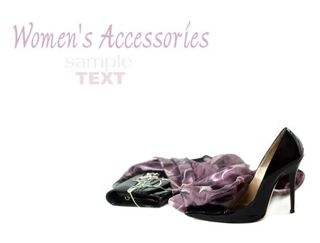 Black women shoes photo