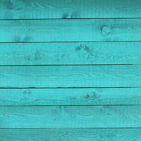blue wooden background or texture photo