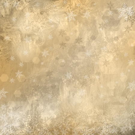 Gouden Kerst achtergrond Stockfoto
