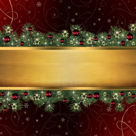 Christmas background  Stock Photo - 15843785