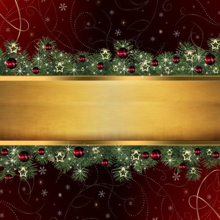 boldog karácsonyt: Karácsonyi háttér Stock fotó