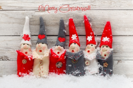 christmas decoration  product made of the salt and flour