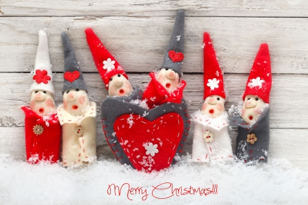 christmas decoration  product made of the salt and flour photo